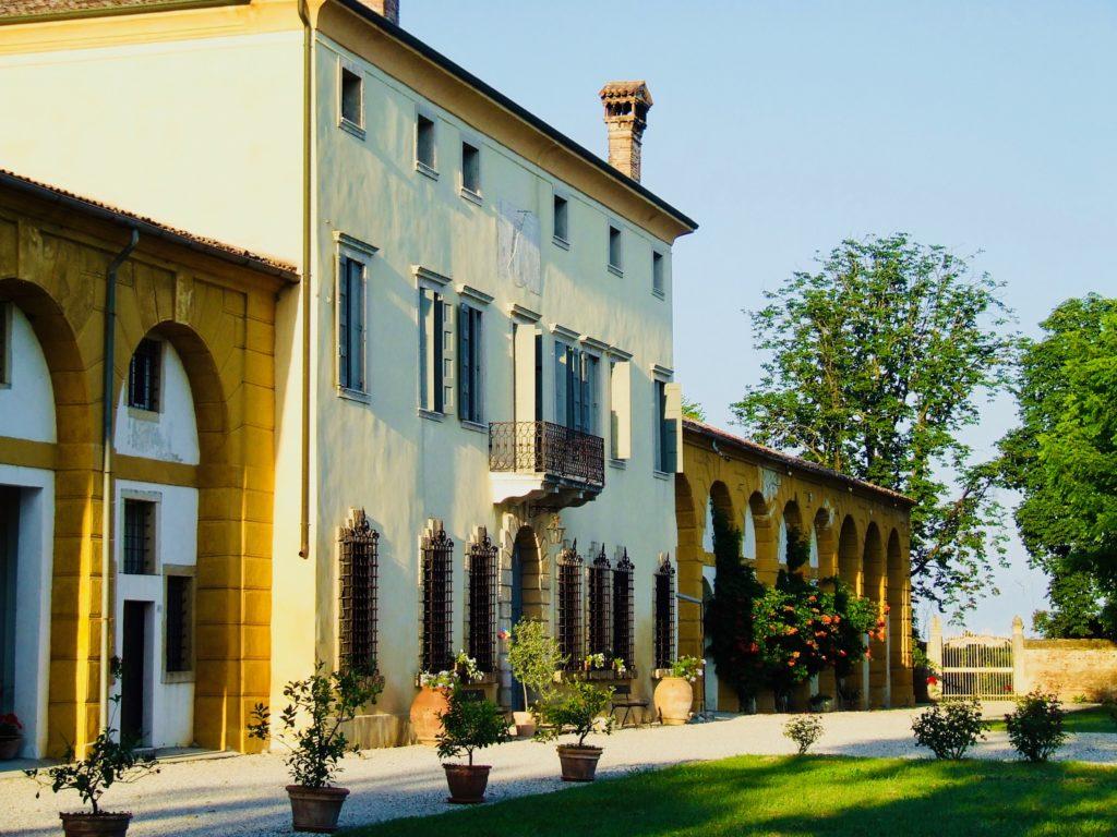 The Facade at Villa Maffei Rizzardi