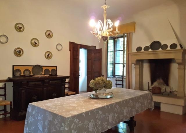 Sala da pranzo Villa Maffei Rizzardi
