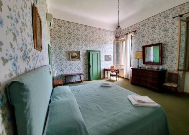Camera a fiori di Villa Maffei Rizzardi