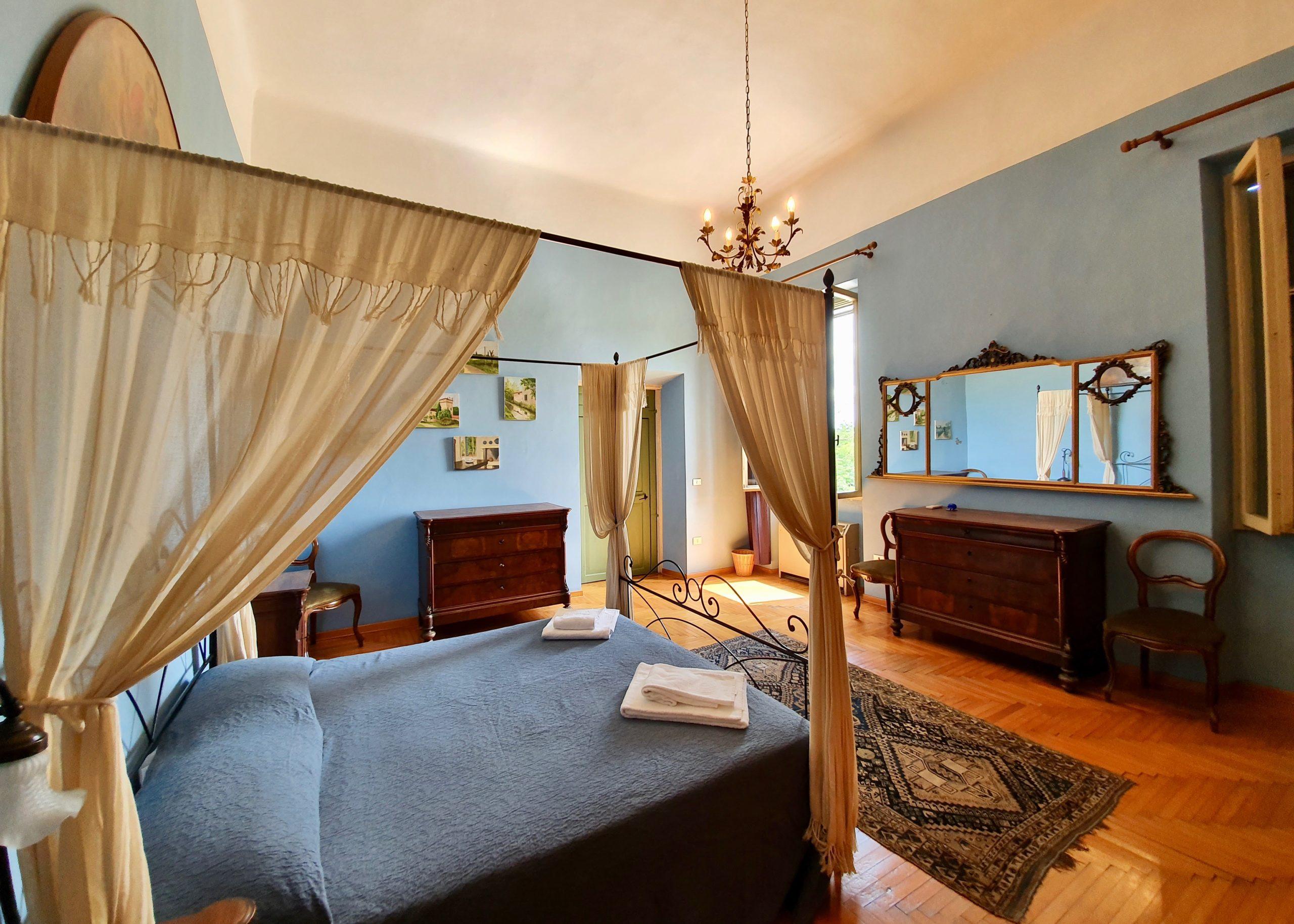 Camera azzurra di Villa Maffei Rizzardi