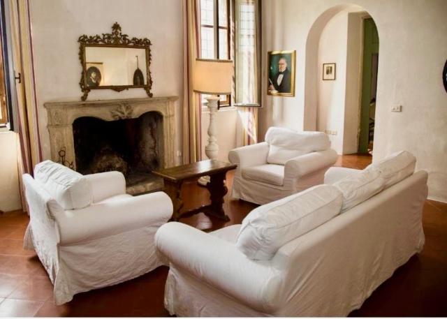 Soggiorno di Villa Maffei Rizzardi