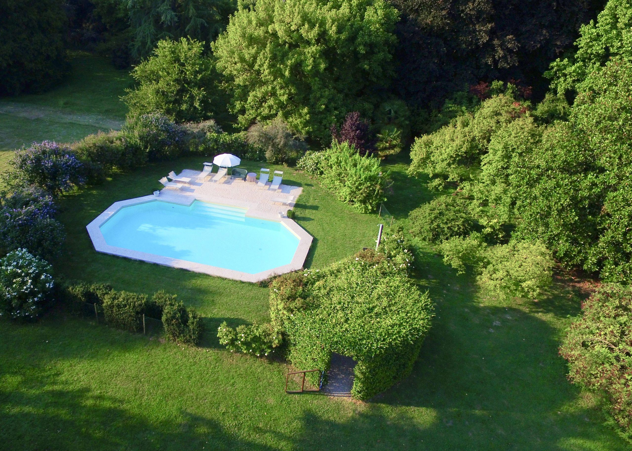 La Piscina a Villa Maffei Rizzardi